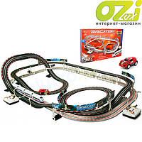 Детская железная дорога и автотрек Racing 630см марки Cowa