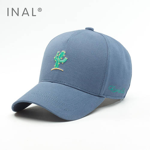 Кепка бейсболка, Cactus, Хлопок, Синий, Inal