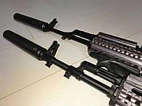Глушитель 5.45 24x1.5 Rh Gen II для АК74 , фото 1