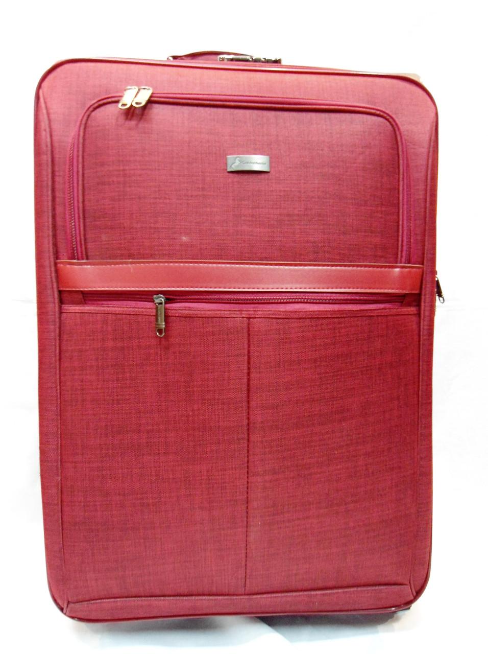 Симпатичный дорожный чемодан текстиль (размерный ряд) 3 колеса Ч40 -  Интернет- магазин