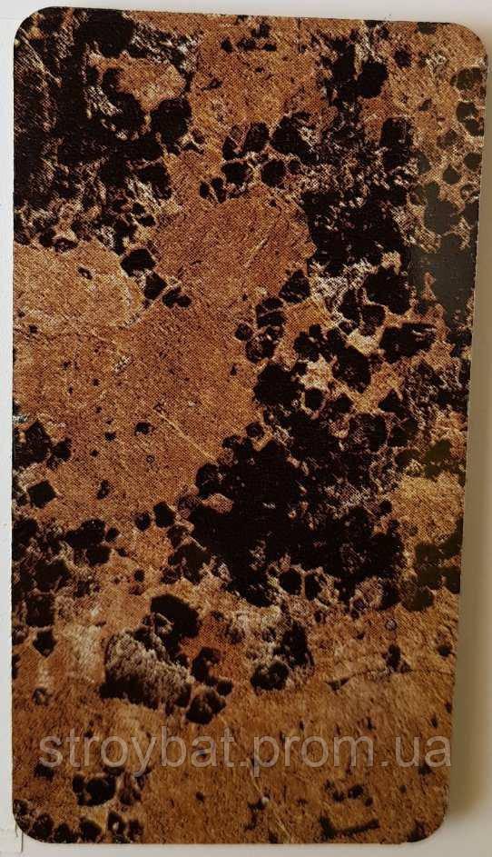 панель коричневый гранит