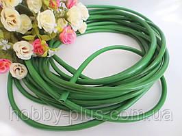 Флористический рукав, цвет зеленый, 1 м, d 6 мм.