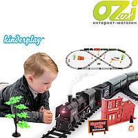Большая железная дорога Rail King 7 м с парой