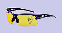 Солнцезащитные очки OULAIOU противоударные, съемные желтые линзы, фото 1