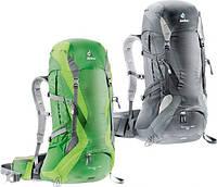 Рюкзак 36+4 л. для походов и прогулок в горах FUTURA PRO 36 DEUTER, 34274 зеленый, черный