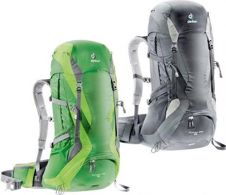 Рюкзак FUTURA PRO 36 DEUTER, 34274 зеленый, черный 36+4 л