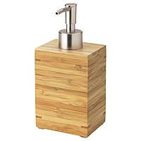 ДРАГАН Дозатор для жидкого мыла, бамбук 90271493 ИКЕА, IKEA, DRAGAN