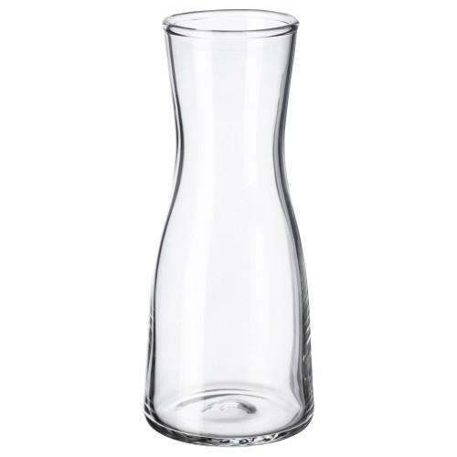 ТИДВАТТЕН Ваза, прозрачное стекло, 15 см 60335991 IKEA, ИКЕА, TIDVATTEN