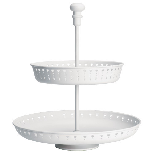 ГАРНЕРА Сервировочная подставка, 2 яруса, белый 10258768 IKEA, ИКЕА, GARNERA