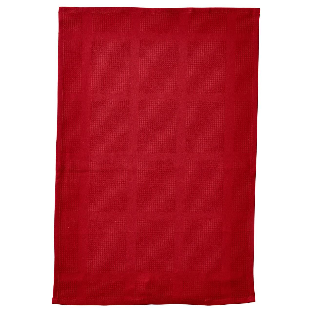 ИРИС Полотенце кухонное, красный, 50x70 см 70235533 IKEA, ИКЕА, IRIS