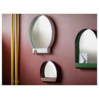 ИППЕРЛИГ Зеркало, белый, 45x46 см 70346102 IKEA, ИКЕА, YPPERLIG