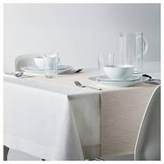МЭРИТ Дорожка настольная, кремовый, 35x130 см 70246193  IKEA, ИКЕА, MARIT, фото 2