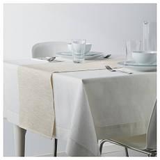 МЭРИТ Дорожка настольная, кремовый, 35x130 см 70246193  IKEA, ИКЕА, MARIT, фото 3