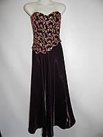 Женское вечернее нарядное платье  р.42-44  101кж