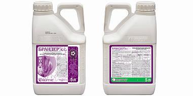 Фунгицид Брандер ( Кустодия ) азоксистробин 200 г/л + тебуконазол 160 г/л; пшеница, подсолнечник, соя