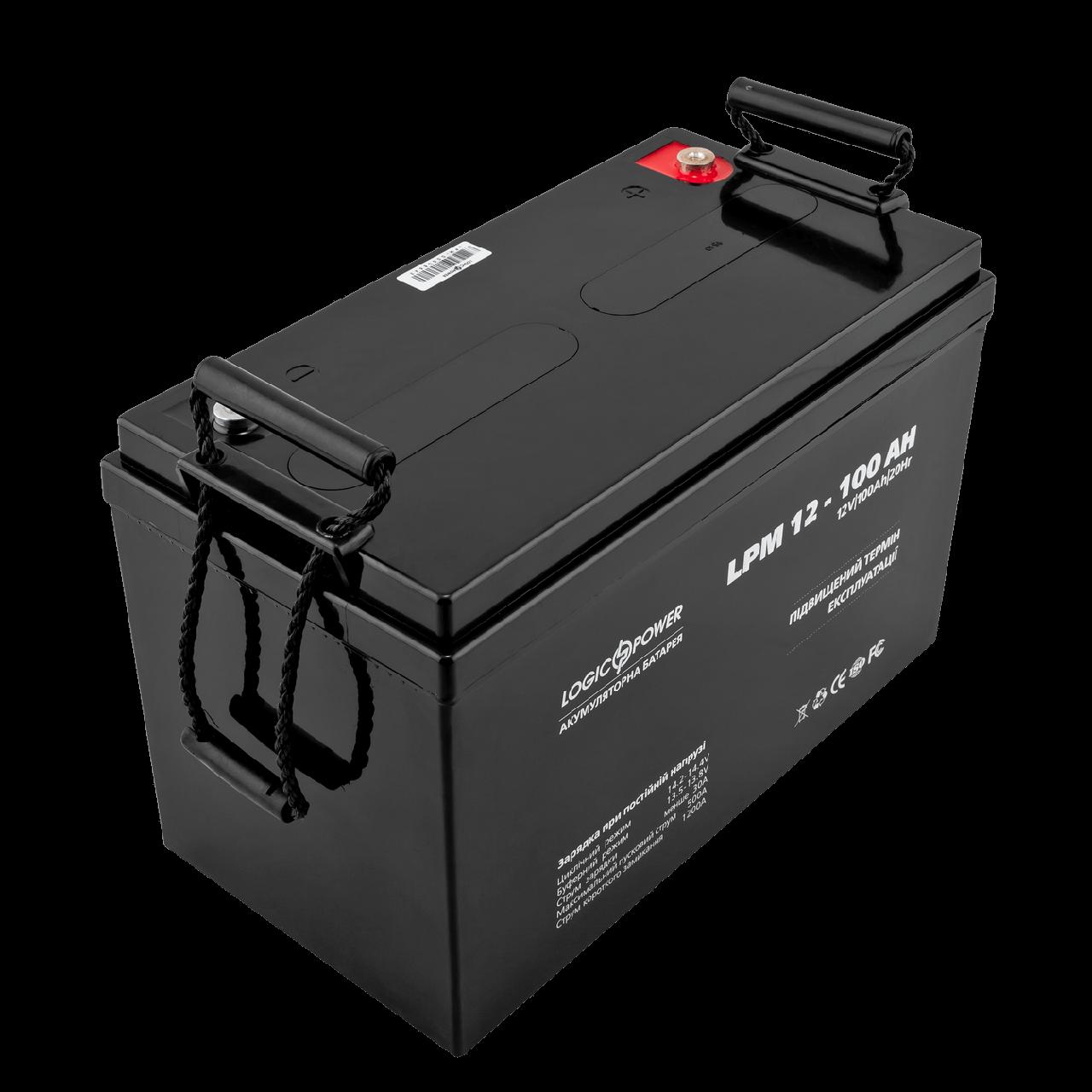 Аккумулятор LPM 12 - 100 AH