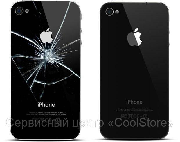 Замена задней крышки iPhone 4 в Донецке