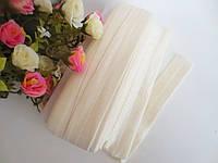 Бейка-резинка для повязок, кремовая, 25 мм