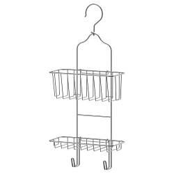 ИММЕЛЬН Вешалка для душа, 2 уровня, оцинкованный, 24x53 см 30252633 IKEA, ИКЕА, IMMELN