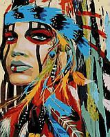 Рисование по номерам Индианка (AS0181) 40 х 50 см ArtStory