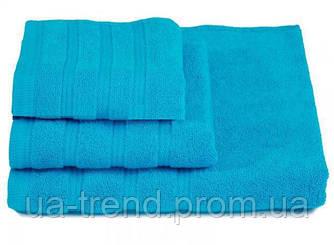Набор качественных махровых полотенец 3шт