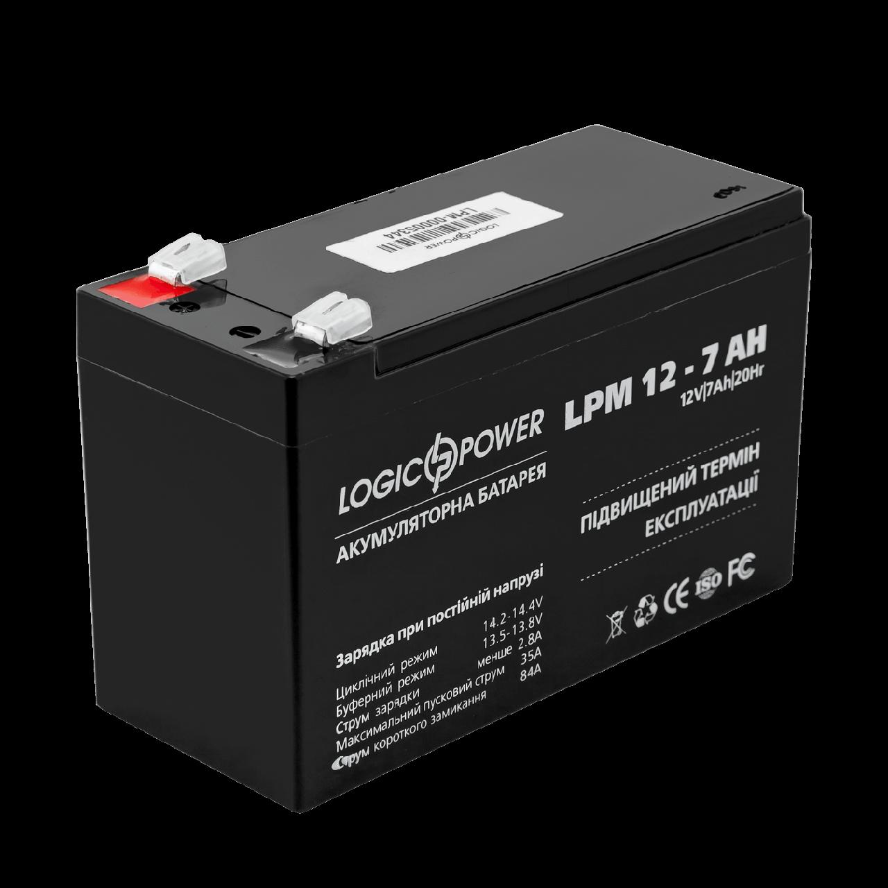 Аккумулятор LPM 12 - 7,0 AH