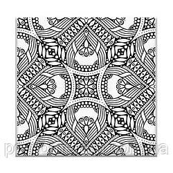 Раскраска антистресс Орнамент (AR08) 20 х 20 см ArtStory (Без коробки)
