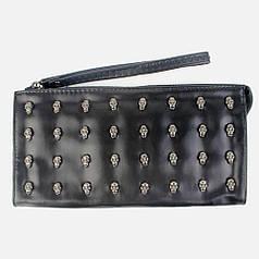 Клатч Philipp Plein Skulls Wallet Black