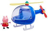 Игровой набор Peppa ВЕРТОЛЕТ ПЕППЫ, вертолет и фигурка Пеппы (06388)