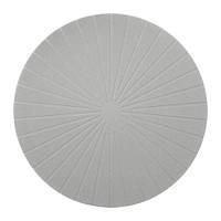 ПАННО Салфетка под приборы, круглый, серый, 37 см 60351146 IKEA, ИКЕА, PANNA