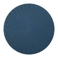 ПАННО Салфетка под приборы, круглый, темно-синий, 37 см 30351143 IKEA, ИКЕА, PANNA