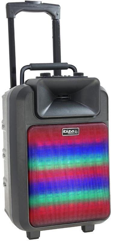 Автономная акустическая система Ibiza POWER8LED-MKII
