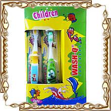 Зубная щётка детская Wash-Q 12 шт./уп.