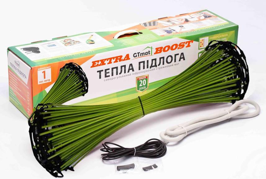 Стержневой инфракрасный теплый пол GTmat ExtraBOOST S-105 5 м.кв., 800 до 950 Вт. гарантия 20 лет