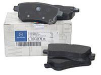 Тормозные колодки для Mercedes ML/GL/E/S/R/Viano в наличии!