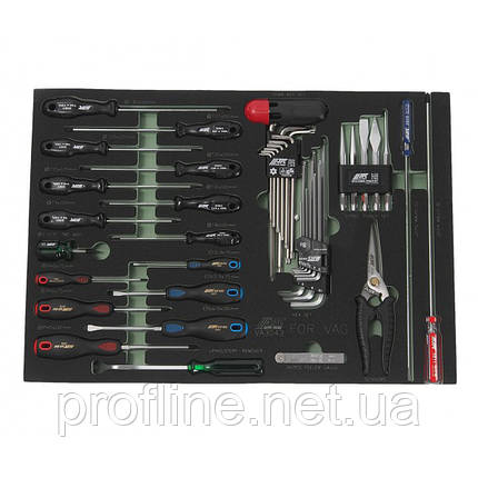 Набор инструментов для VAG (3 секция)  VA3043 JTC, фото 2