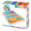 Пляжний надувний матрац Intex 198 х 160 см, фото 2