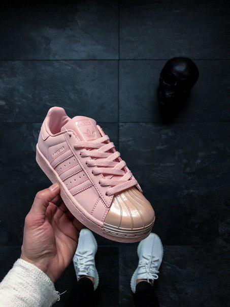 new style ec4e1 971aa Женские кроссовки адидас adidas Superstar 80s Metal Toe W (Icey Pink / Icey  Pink / Icey Pink) адидас розовые