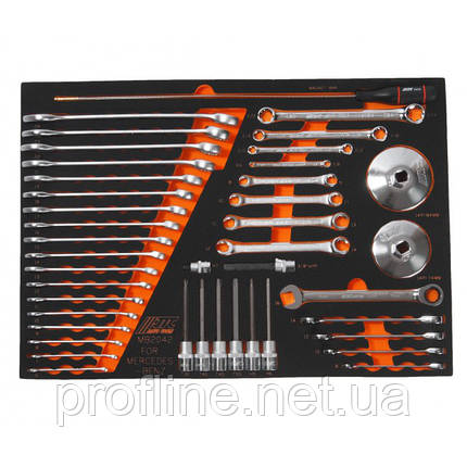 Набор инструментов для Mercedes-Benz (2 секция)  MB2042 JTC, фото 2