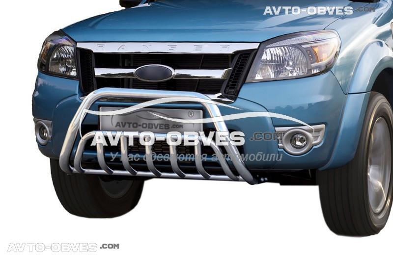 Кенгурятник усиленный Ford Ranger Pick-Up 2009 - 2011
