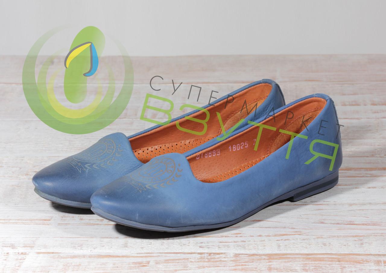 Кожаные женские туфли Maximoda 99F 37 размер