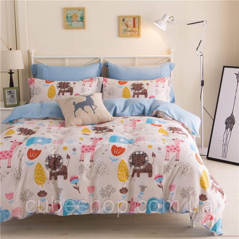 Комплект постельного белья Safari blue (полуторный)