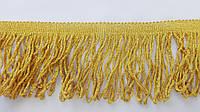 Бахрома  8.5 см золото