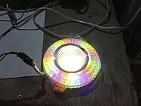 Декоративный светильник 6Вт RGB silver