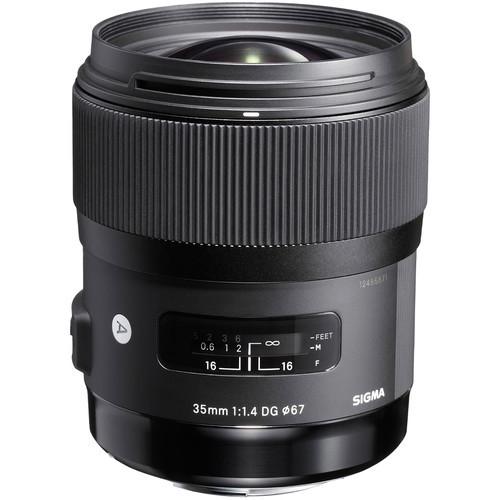 Объектив Sigma 35mm f1.4 DG HSM Art Lens for Sigma DSLR Cameras (340110)