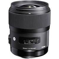 Объектив Sigma 35mm f1.4 DG HSM Art Lens for Sigma DSLR Cameras (340110), фото 1