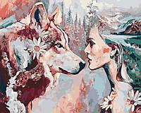 Картина по номерам Душа волка (AS0189) 40 х 50 см ArtStory, фото 1