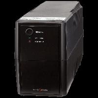 ИБП LogicPower LPM-625VA-P, 2 евророзетки, 3 ступ. AVR, 7.5Ач12В. Пластиковый корпус, цвет черный.