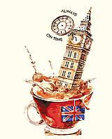 Раскраска по цифрам Английское чаепитие (AS0208) 40 х 50 см ArtStory, фото 1