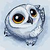 Рисование по номерам Любопытная совушка (AS0232) 40 х 40 см ArtStory [Без коробки]